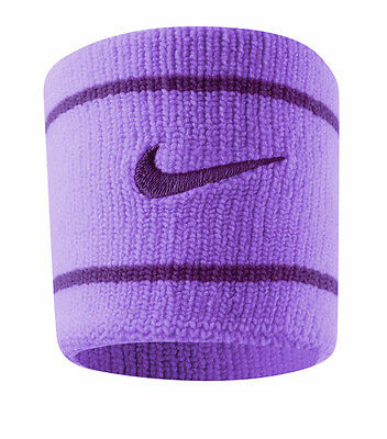 Nike Dri-Fit Wristband Red Violet/Bright Mango