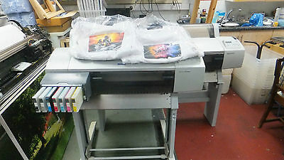 "Epson 7600 Stylus pro A1 Dye Sublimation Printer 24"" Wide Format"