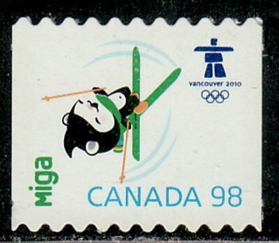 Canada #2308ii Olympic Mascots & Emblem From Coil Die-Cut MNH