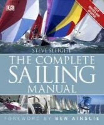 The Complete Sailing Manual by Steve Sleight Hardcover Book (English)