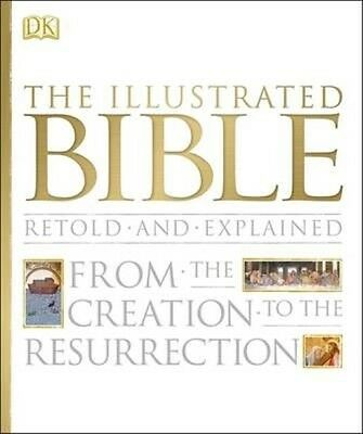 The Illustrated Bible by Dk Hardcover Book (English)