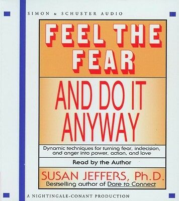 Feel the Fear and Do It Anyway by Susan Jeffers Compact Disc Book (English)