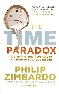 The Time Paradox by Philip G. Zimbardo Paperback Book