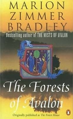 The Forests of Avalon by Marion Zimmer Bradley Paperback Book