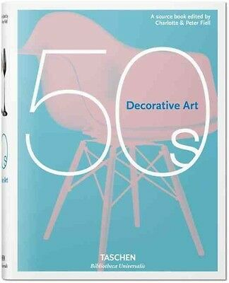 Decorative Art 50s by Charlotte Fiell Hardcover Book (English)