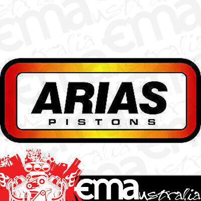 """Arias Forged Dish Top Pistons 4.030"""" Bore 4.1"""" Stroke Gm/holden Ls1 Ap1060510"""