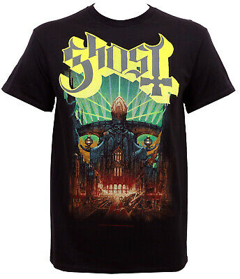 Authentic GHOST Band Meliora Album Cover Art T-Shirt S-2XL Official NEW