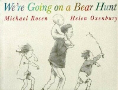 We're Going On A Bear Hunt + Cd by Oxenbury, Helen Book The Cheap Fast Free Post
