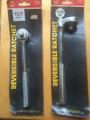 Reversible Ratchet 3/8 Drive Flex Head 2 Pc