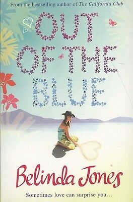 Out of the Blue by Belinda Jones Paperback Book (English)