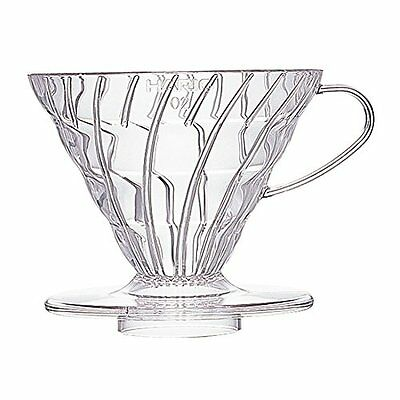 Hario Japan VD-02T V60 Coffee Dripper Clear