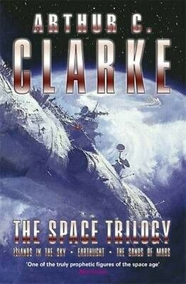 The Space Trilogy by Arthur C. Clarke Paperback Book