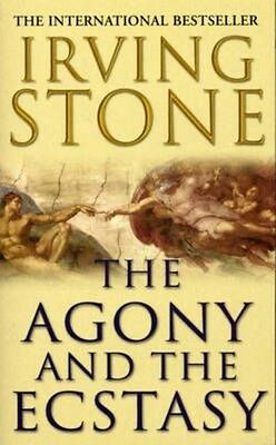 The Agony and the Ecstasy by Irving Stone Paperback Book