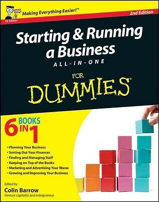 Starting and Running a Business All-in-One For Dummies by Colin Barrow Paperback