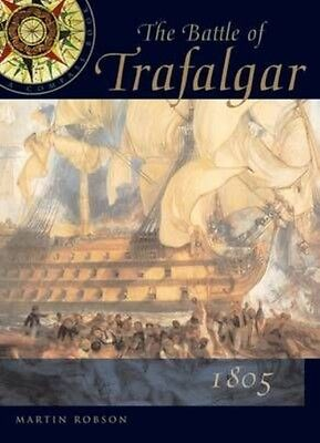 The Battle of Trafalgar by Martin Robson Hardcover Book (English)