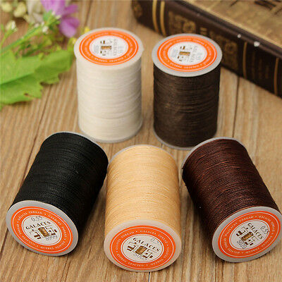 115m Poliéster Costura Hilo Carretes DIY Leather Craft 0.55mm para Shoe Sewing