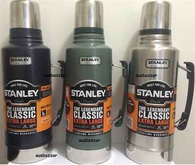 STANLEY Vacuum Thermos Flask Stainless Steel Drink Bottle Coffee Mug Gift Pack G