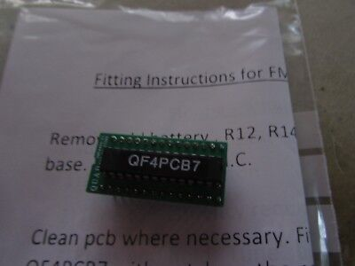 FM4 tuner processor upgrade to remove & replace battery genuine made by QUAD UK