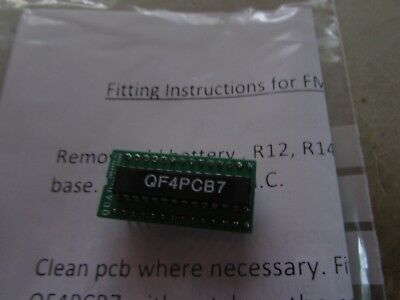QUAD FM4 UK made processor upgrade replacement replace battery gone out removed