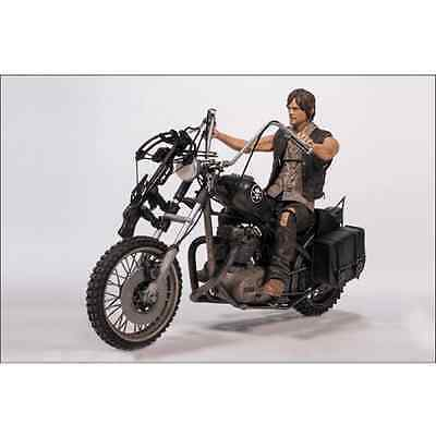 Figurine The Walking Dead Daryl Dixon moto Licence Officielle