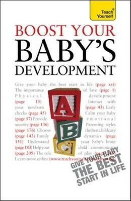 Boost Your Baby's Development: Teach Yourself by Caroline Deacon Paperback Book