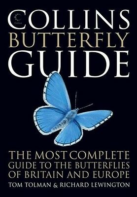 Collins Butterfly Guide by Tom Tolman Paperback Book (English)