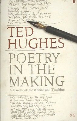 Poetry in the Making by Ted Hughes Paperback Book (English)