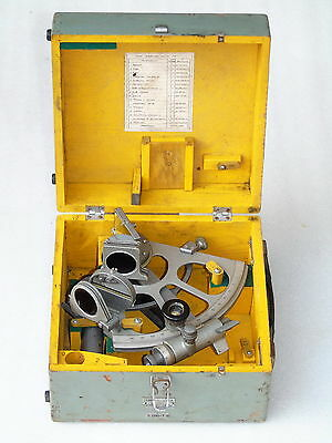 Marine Ships Russian Cho-T Nautical Sno M Sextant With 12X Scope