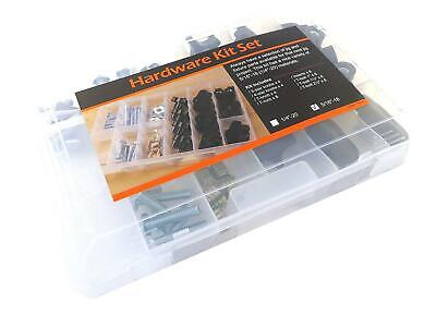 48 Piece Jig T Track Hardware Kit 5/16 18Knobs, T Bolts, Inserts 48PJHK-5/16