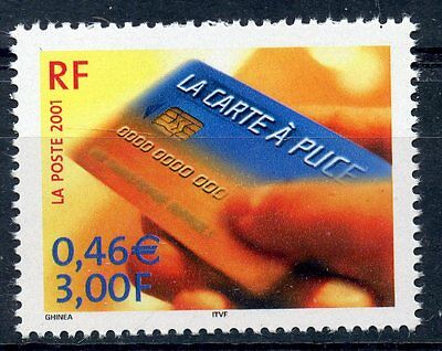 Stamp / Timbre France Neufn° 3425 ** La Carte A Puce