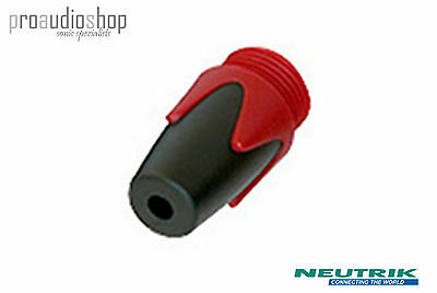 2x (TWO) Neutrik BPX-2 colour coded boot / bushing for NP2X NP3X Jacks RED