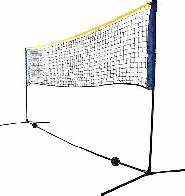 Schildkröt Funsports Kombi Netz Set 3m breit In Outdoor 0,75-1,55m verstellbar