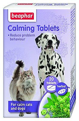 Beaphar Calming Tablets For Cats & Dogs Pet Supplies A Natural Way To Calm Your
