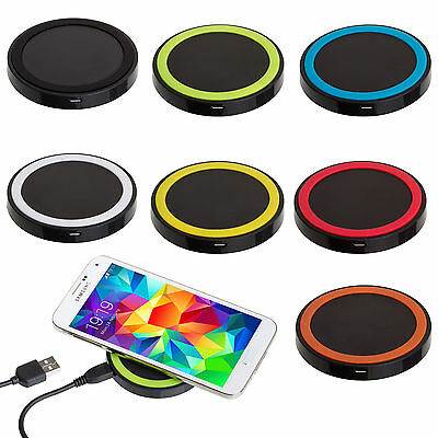 Qi Wireless Battery Charger Power Charging Pad for Samsung Galaxy S7 / S7 Edge