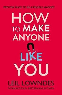 How to Make Anyone Like You by Leil Lowndes Paperback Book