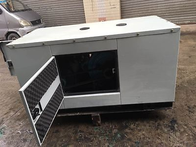 Brand New 15000W 15Kw Diesel Powered Generator With Enclosure Shipped by Sea