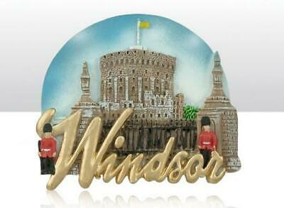 London Windsor Great Britain Poly Souvenir Magnet Großbritannien