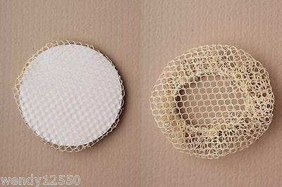 Pack Of 12 Small Sized Mesh Bun Nets : Blonde : Wholesale : Sp-4759 Pk12