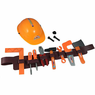 Tool Belt Set Toy for Kids Tools Pretend Play Dress Up Handyman Children Toys