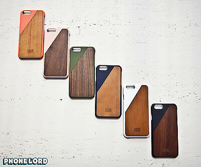 Native Union Genuine Clic Wooden Case for iPhone 6/6S Timber wood case cover