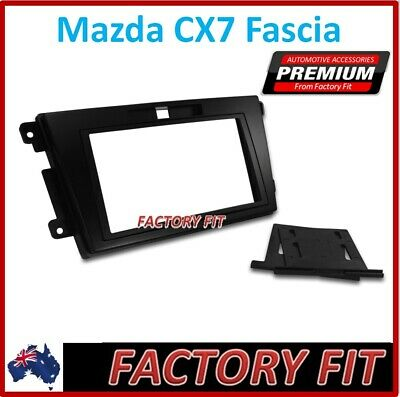 +For Mazda CX-7 Facia Stereo Adapter Double Din Radio Dash Trim Panel Fascia Kit