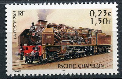 Stamp / Timbre France Neuf N° 3410 ** Chemin De Fer / Train / Pacific Chapelon
