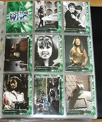 Classic Doctor Who TV Trilogy Complete Mint 200 Card Colour Base Set 1963 - 1996