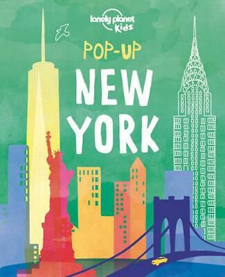 Pop-Up New York by Lonely Planet (English) Hardcover Book Free Shipping!