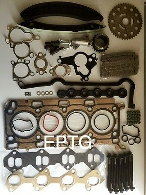 ESPACE MEGANE LAGUNA TRAFIC 2.0 DCi HEAD GASKET SET BOLTS TIMING CHAIN KIT  M9R