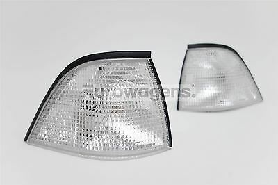 BMW 3 Series E36 92-99 Coupe Convertible Clear Front Indicators Repeaters Pair