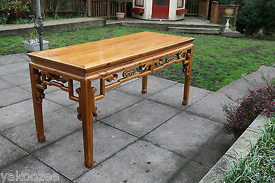 Chinese Softwood Painter's Table  #20150096 实木大画案186厘米长90力米高厘米宽