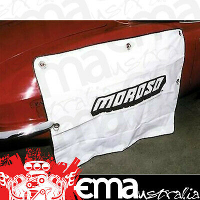 """MOROSO TYRE COVER WHITE VINYL SUCTION CUP FIT FOR TYRES UP TO 42"""" x 36"""" MOR99421"""