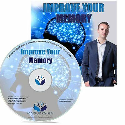 Improve Your Memory Hypnosis CD + FREE MP3 VERSION improve your overall recall