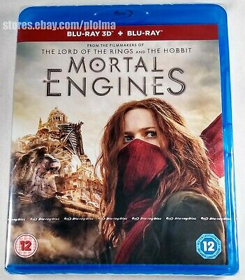 MORTAL ENGINES Brand New 3D (and 2D) BLU-RAY Movie 2018 Film SHIPS NOW FROM USA